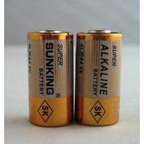 Pilha 6v 4lr44 Bateria Para Coleira Anti Latido E Apito