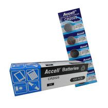 Bateria Pilha Moeda Cr2025 Cr 2025 3v Lithium 100 Unidades
