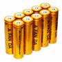 Kit Carregador + 10 Baterias 18650 6800mah 4.2v - Lanterna