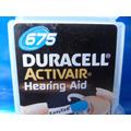 Bateria Para Aparelho De Audição 657 Com 6 Original Duracell