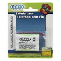 Eco Mania Bateria Ni-cd P/ Telefone Sem Fio - Em-60u