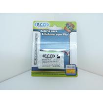 Bateria Para Telefone Sem Fio - 3.6v 400mah - Ecomania