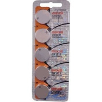 Bateria Lithium 3v Cr2025 Maxell Original (cartela 5 Unid)