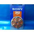 Bateria Para Aparelho De Audição 312 Pr41 C/ 6 Original Sony
