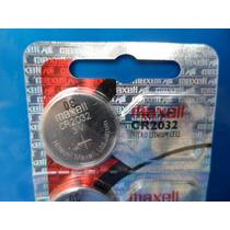 Bateria Pilha Cr2032 3v Original Maxell Lithiium Emb Com 5