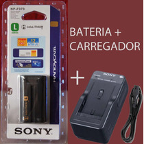 Bateria Npf970 Sony Original + Carregador P Led Camera Nikon