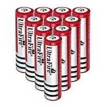 10 Baterias 18650 6800mah 3.7v Recarregáveis, Promoção! Free