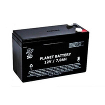 Bateria Planet Selada 12v 7a Frete Grátis