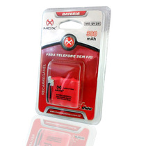 Bateria Telefone Sem Fio Mox 3.6v 300mah Universal Mo-u125