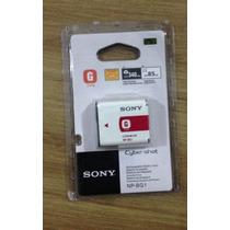Bateria Original Sony G Np-bg1 Npbg1 340 Shots Lacrada