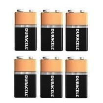Baterias 9v Duracell Duralock Alcalinas Lote C/ 6un Promoção