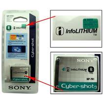 Bateria Original Sony Np-fr1 Lacrada Camera Dsc-p120 P150 V3