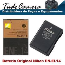 Bateria En-el14 Original Para Nikon D3100 D3200 D5100 D5200