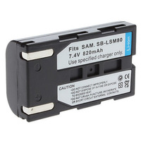 Bateria Sb-lsm80 P/ Samsung Mini Dv Sc-d371 Sc-d372 Sc-d352