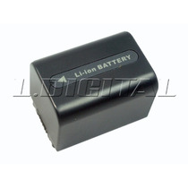 Bateria Np-fh50 Compatível C/ Np-fh30 Np-fh60 Frete Grátis