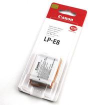 Bateria Canon Lp-e8 Original T2i T3i T4i Eos 550 600d X4 X5