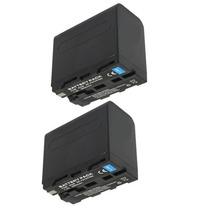 Lote 2 Baterias Np-f970 Np-f960 P/ Iluminador Yongnuo Yn-300