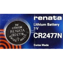 Bateria Renata Cr2477n 3v Lithium