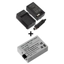 Kit Bateria Lp-e8 + Carregador P/ Canon Eos T5i T4i T3i T2i