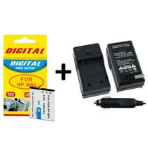 Kit Bateria Np-bn1 + Carregador P/ Sony Dsc-w800 Dsc-w810