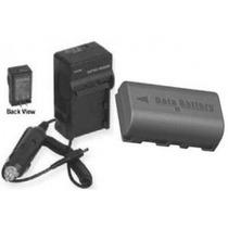 Kit Carregador + Bateria Bn-vf808 Jvc Everio Gz-mg630 Mg670