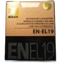 Bateria En-el19 P/ Camera Digital Nikon Coolpix S2500 S3100