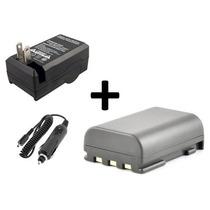 Kit Bateria + Carregador Nb-2l Canon Nb-2lh Nb2l Nb2lh Bp-2l