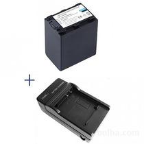 Kit Bateria Fh100 + Carregador Np-fh100 Sony Hdr-xr200 Fh30