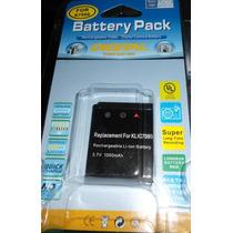 Bateria Para Kodak Easyshare Klic-7000 - M590 M 590