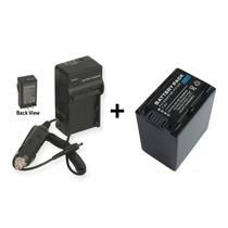 Kit Bateria Fv100 + Carregador Np-fv100 Câmera Sony Dcr-sx45