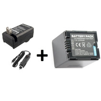 Kit Bateria Cga-du21 +carregador Panasonic Cga-du07 Cga-du12