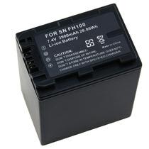 Bateria De Longa Duração P/ Sony Dcr-sr47 Dcr-sr42 Np-fh100