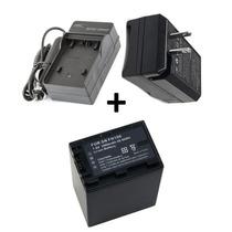 Kit Bateria Np-fh100 + Carregador P Sony Hdr-xr100 Hdr-xr200