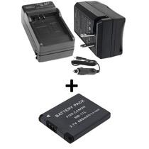 Kit Bateria Nb-11l + Carregador P/ Canon A2400 Is A3400 Is