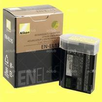 Bateria P/ Nikon En-el15 Original D7000 D7100 D600 D800 E V1
