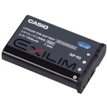 Bateria Casio Np-90 Original Ex-h10 Ex-h20g Exh10 Ex-fh100bk