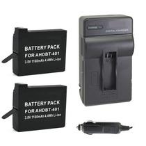 Kit Duas Baterias + Um Carregador Gopro Hero4 Silver Edition