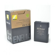 Bateria Nikon En-el14 E Original P/ Modelos D3100 D3200 D510