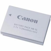 Bateria Canon Nb-5l - Recarregável De Íons Lítio (1120mah)