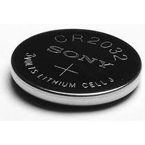 ** 1 Unidade ** Bateria De Lithium Cr 2032 Sony 3v Cartela