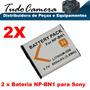 2 Bateria Bn1 Sony Dsc-wx5 Wx7 Wx9 Wx10 Wx30 Wx50 Wx70 Wx150