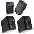 2 Baterias Vw-vbg6 + Um Carregador P/ Panasonic Ag-ac130 Ac7