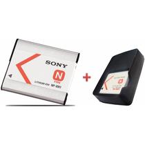 Bateria Sony Np-bn1 Original + Carregador W570 W350 W530 Tx5