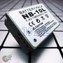 Bateria Nb-10l Canon Sx40 Sx50 Hs Powershot G15 G1x Wb2