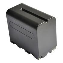 Bateria Np-f970 P/ Sony Longa Duração 6600mah