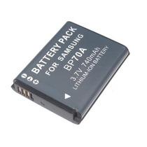 Bateria De Câmera Digital Samsung Bp-70a Pl-120 Pl-100 Es80