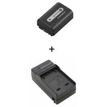 Bateria Sony Np-fh50 Original + Carregador Bc-tcp Sony