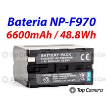 Bateria P/ Led Np-f970 ( F970 Npf970 ) 6600mah / 48.8wh