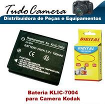 Bateria Klic-7004 Para Kodak Easyshare V1253 V1273 M1093 Is