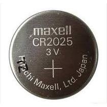Bateria De Lithium Cr 2025 Sony/maxell 3v Cartela 1 Unidades